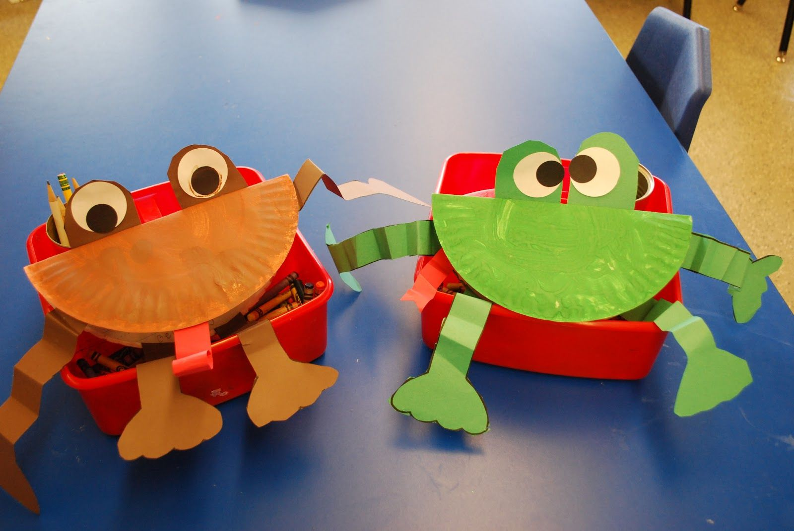 Kinder Kapers Frogs And Toad Are Friends