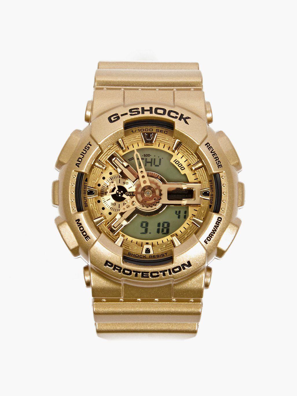 Casio G Shock Mens Gold Ga 110gd 9aer Watch Oki Ni Watches Gshock Original Gd 100ms 3er Limited Colorway