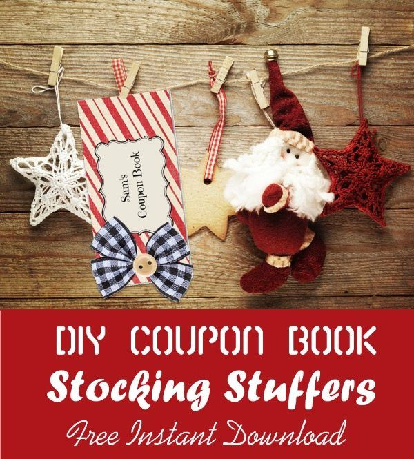 Make your own DIY Christmas coupon book Personalize the templates - coupon templates free