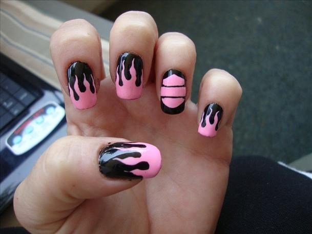 13 Ultra Cool Harley Davidson Nail Designs Pretty Designs Nails Fashion Nails Hair And Nails