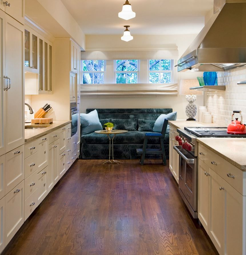 Kitchen Flawless Kitchen Design With Modern And Cool Farm: Flooring Is Finished With A Blend Of Duraseal's Antique
