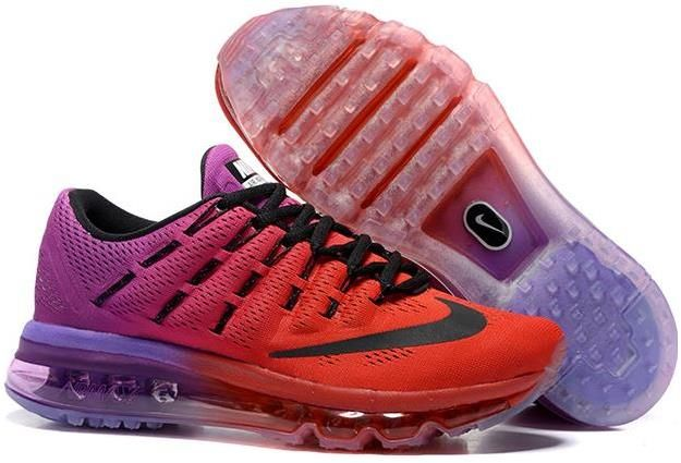 Air Max 2016 Orange Purple Black Shoes | Air Max 2016 Womens