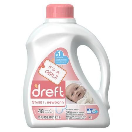 Dreft It S A Girl Newborn Laundry Detergent Detergente Para La
