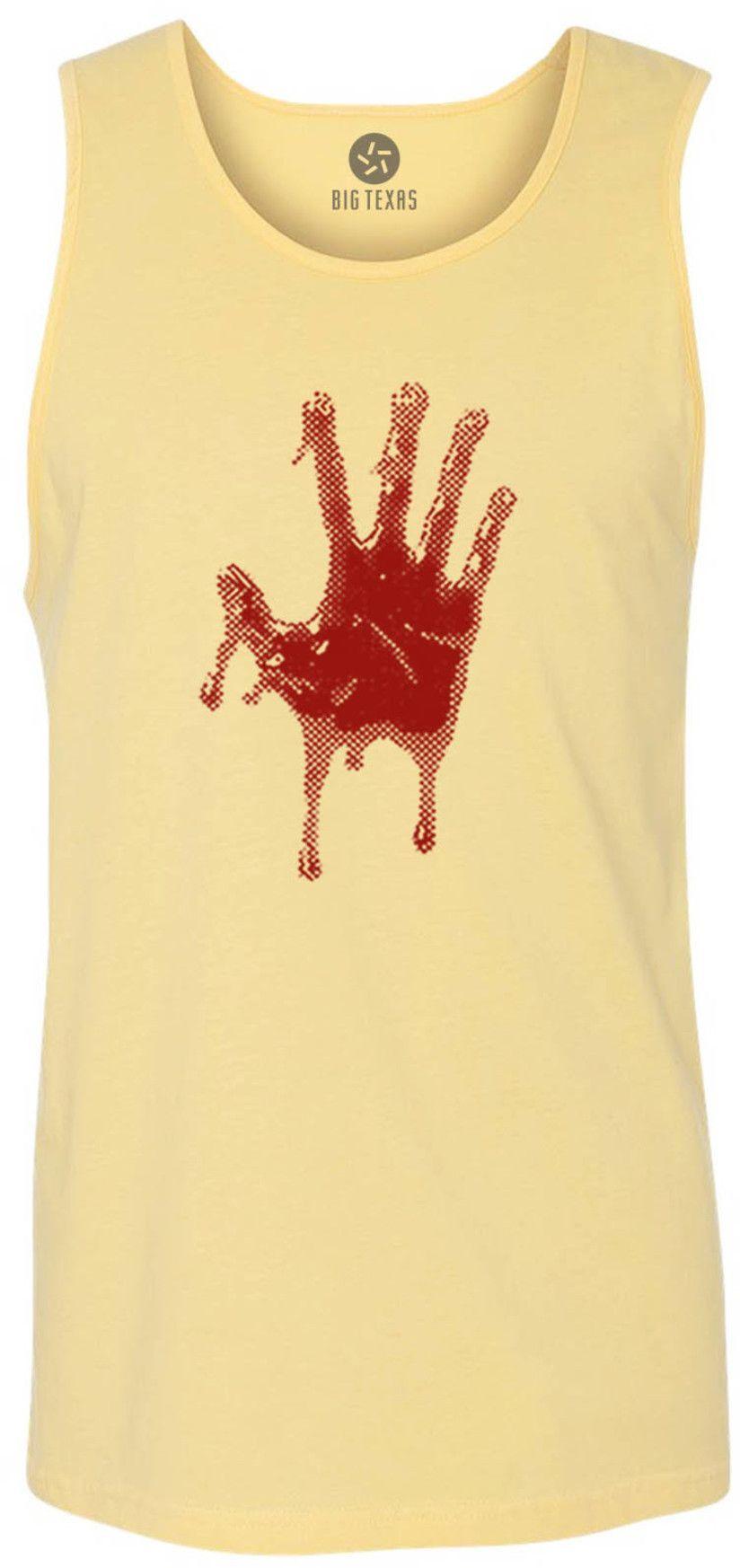Blood Hand (Red) Tank-Top T-Shirt