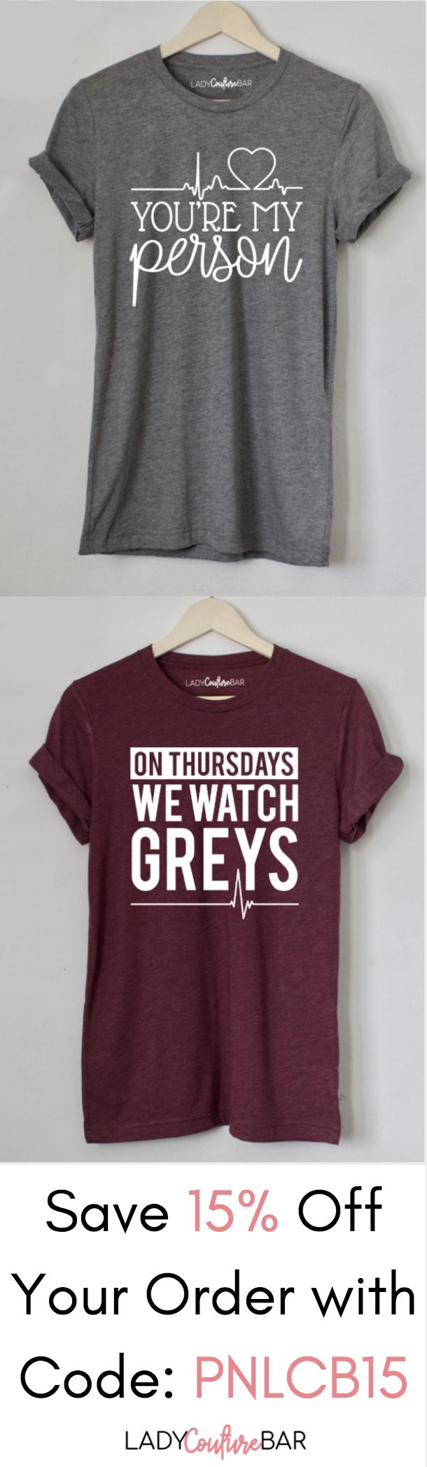 You\'re My Person Shirt, On Thursdays We Watch Greys Shirt, Greys ...