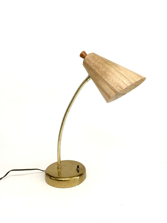 Mid Century Lamp Cone Lamp Vintage Table Lamp Vintage Desk Lamp Mid Century Modern Vintage Bullet Table Lamp Vintage Table Lamp Mid Century Lamp Vintage Table