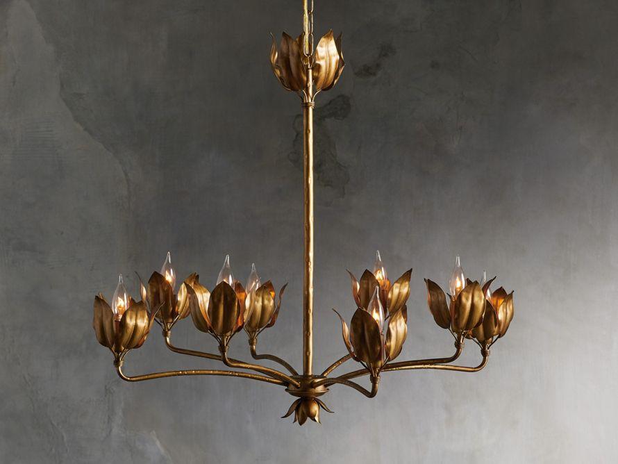 Mariella Tulip Chandelier   Arhaus Furniture   Chandelier ...