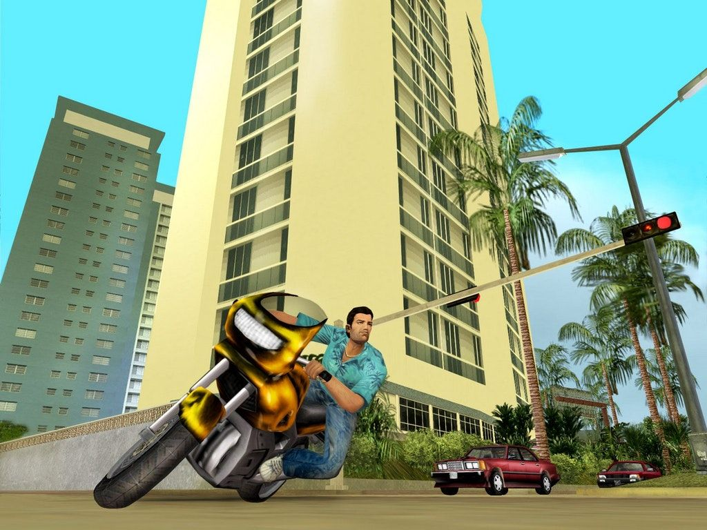 Vice City Is Closer To The 80s Than Current Day Grand Theft Auto
