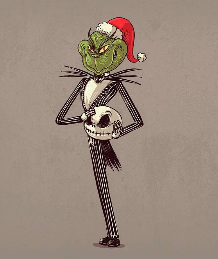 Nightmare Before Christmas Icons.The Nightmare Before Christmas El Grinch Halloween And