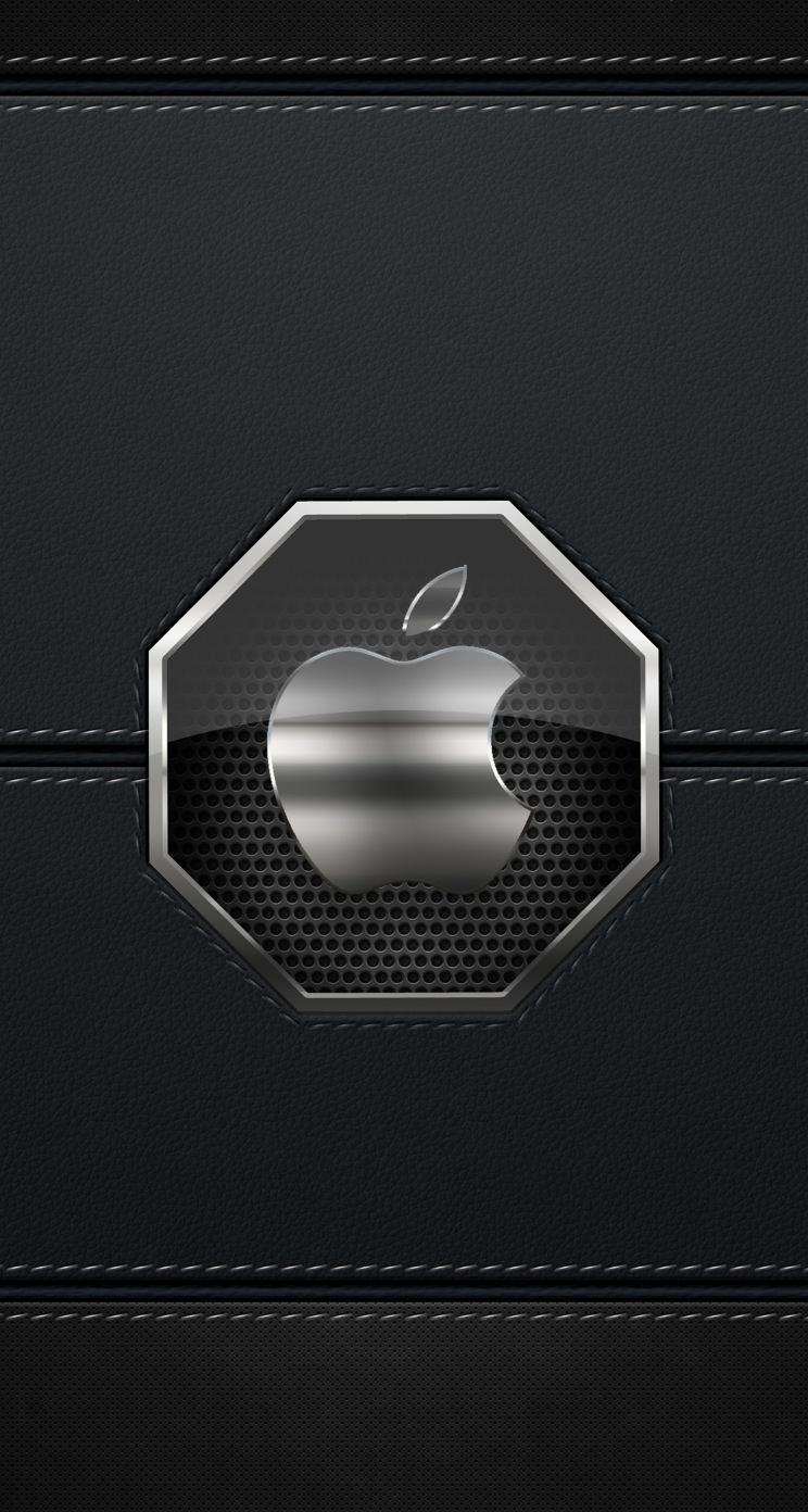 Apple銀 Iphone5s壁紙 Cool Lock Screen Wallpaper Apple Logo