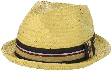 eaaca449b1a Amazon.com  Brixton Men s Castor Straw Fedora Hat