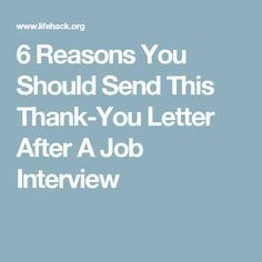 Infographic   Reasons You Should Send This ThankYou Letter