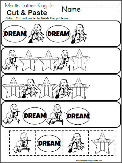It is a photo of Martin Luther King Worksheets Free Printable throughout civil rights