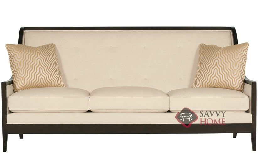 Henderson Sofa with Down-Blend Cushions by Bernhardt Interiors at Savvy Home. $2,001.00