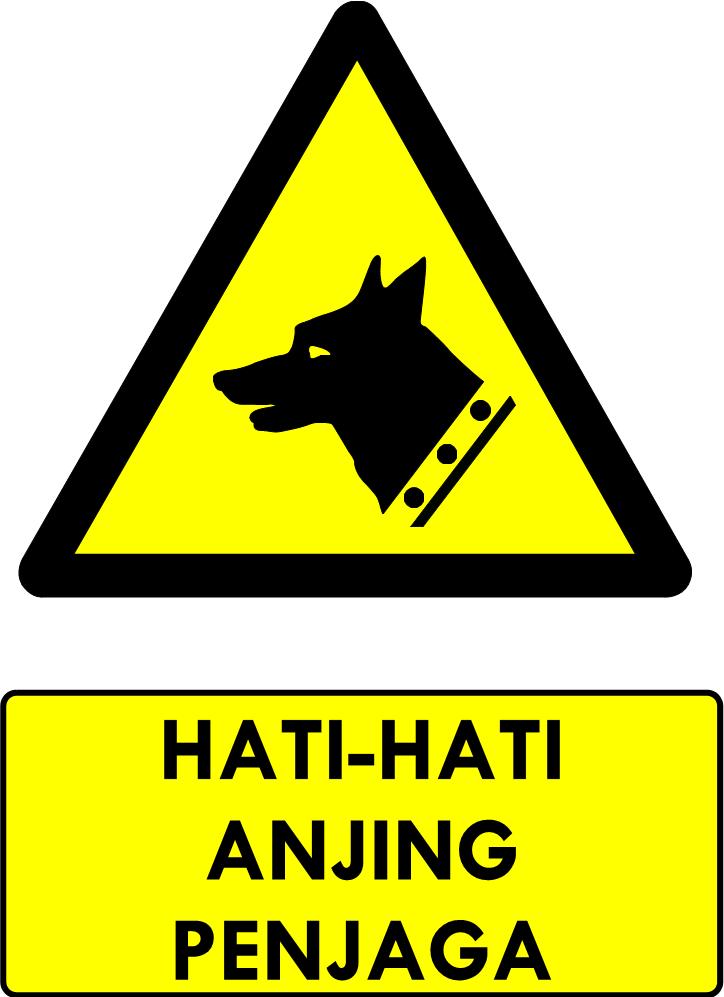 Rambu K3 Kumpulan Rambu Bahaya K3 Safety Sign Manajemen K3 Umum Anjing P3k Tanda
