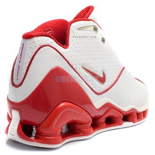 Nike Shox Vince Carter II (2) White Red   Nike shox. Sneakers nike. Nike