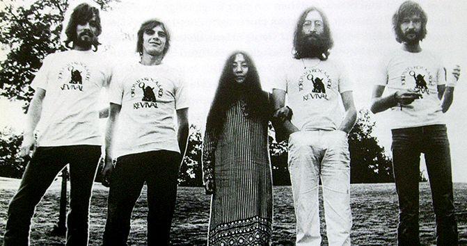 Eric Clapton And John Lennon