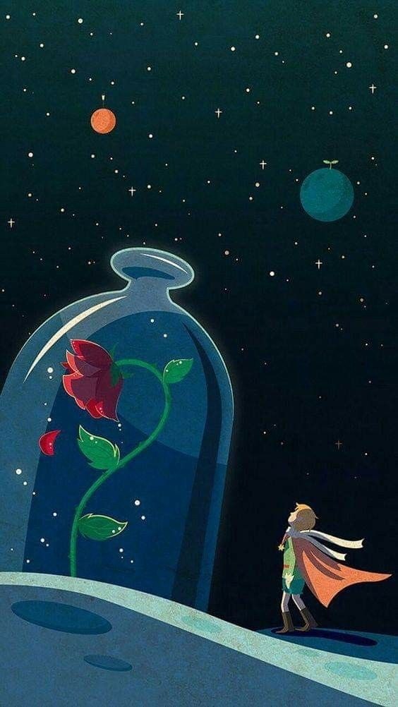 Pin By Amal L26 On Pics Art Wallpaper Iphone Wallpaper The Little Prince