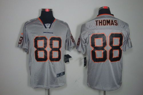 Online Buy Nike Denver Broncos #88 Demaryius Thomas Grey Jerseys  supplier