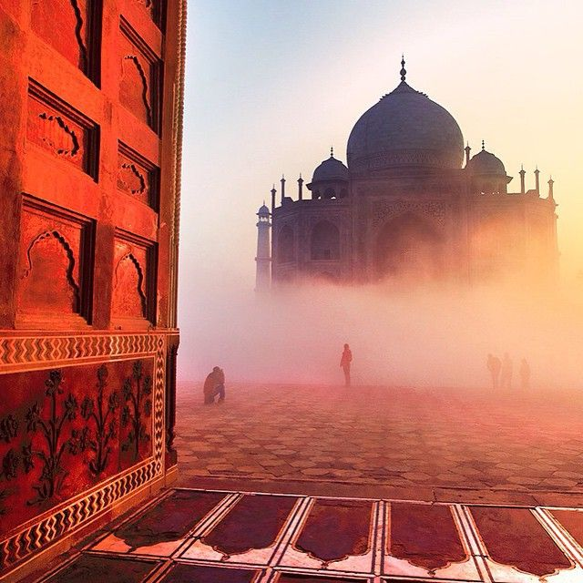 """""""People don't take trips … trips take people."""" – John Steinbeck The world is full of true once-in-a-lifetime experiences and a journey through #India is definitely one of them."""