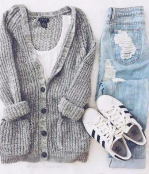 Photo of Casual autumn winter outfit –  – #Genel