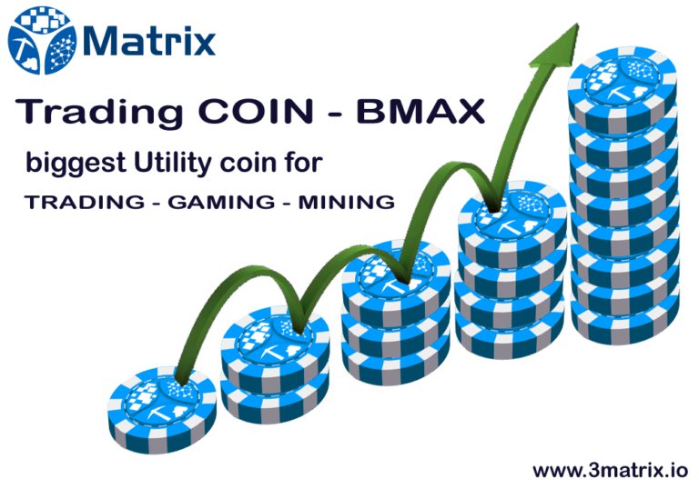 BMAX COIN BE MAXIMUM based on Blockchain Technology