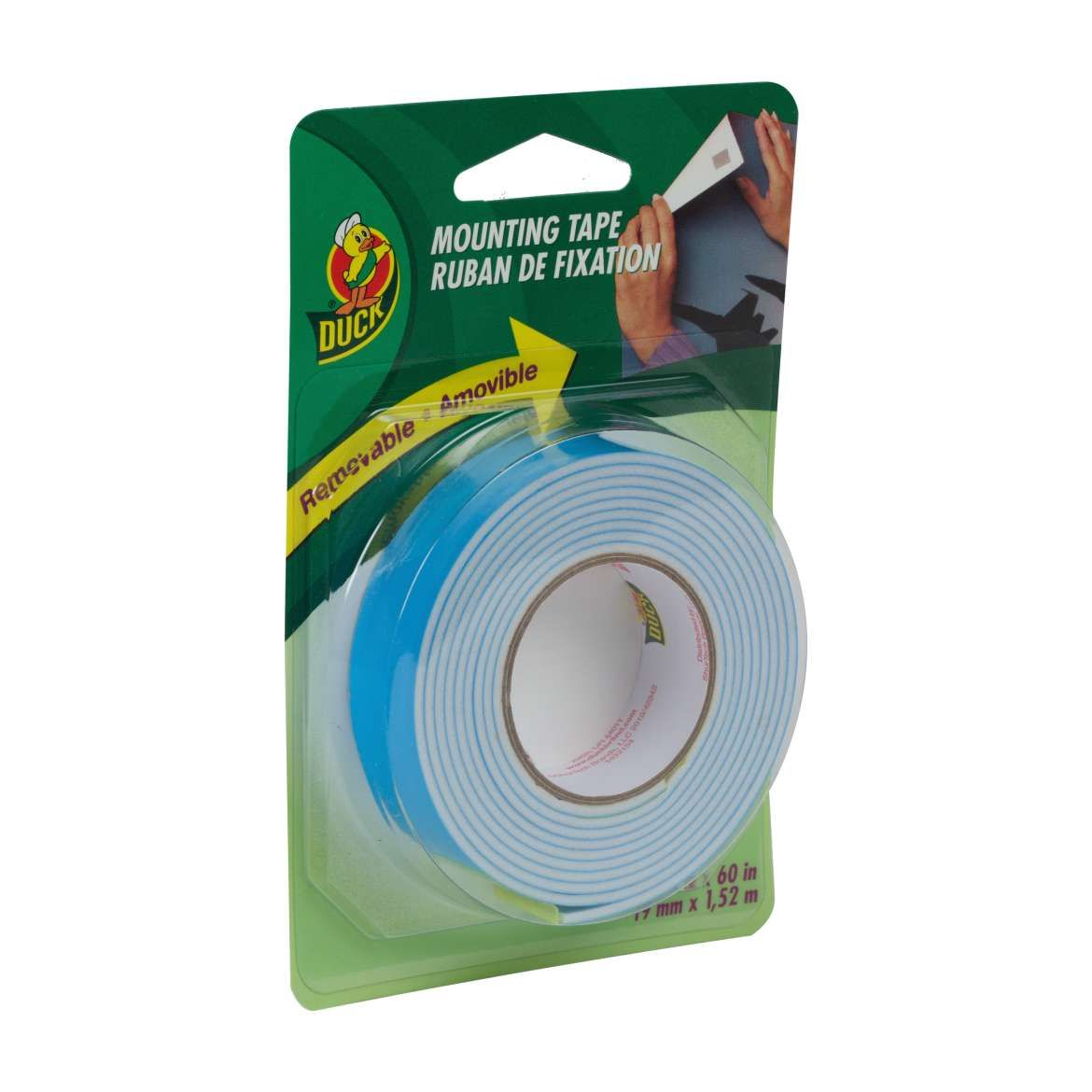 Double Sided Removable Foam Mounting Tape Duck Brand 3 4 X 60