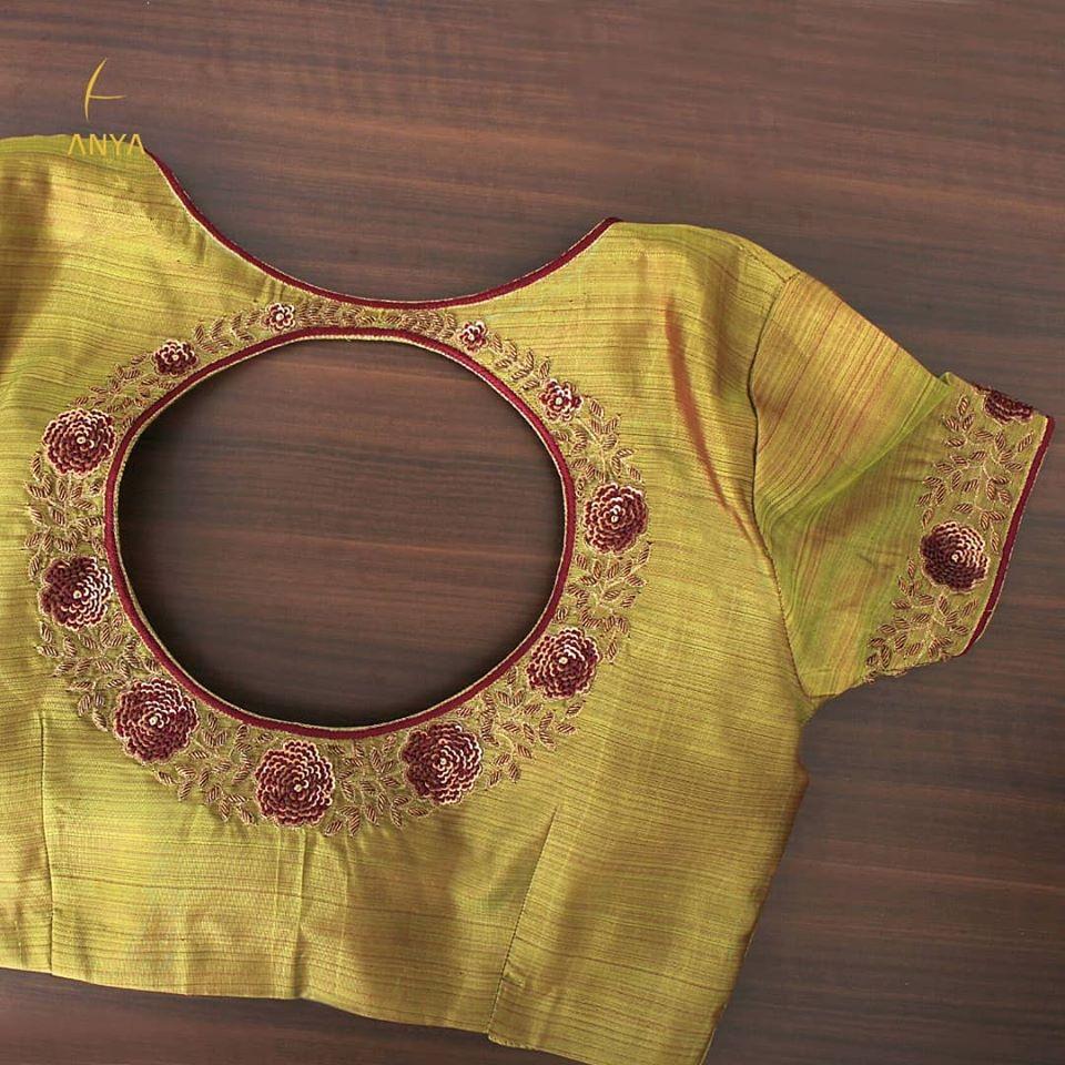 Beautiful designer blouse