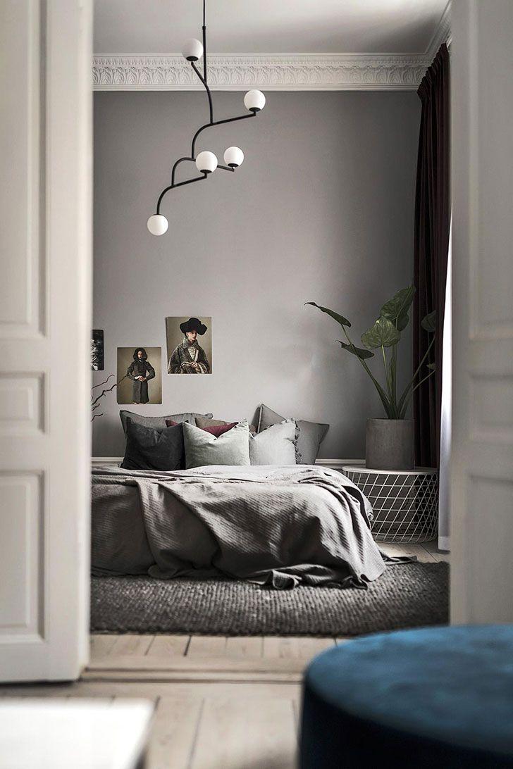 Swedish apartment in trendy tones (65 sqm) Оформление