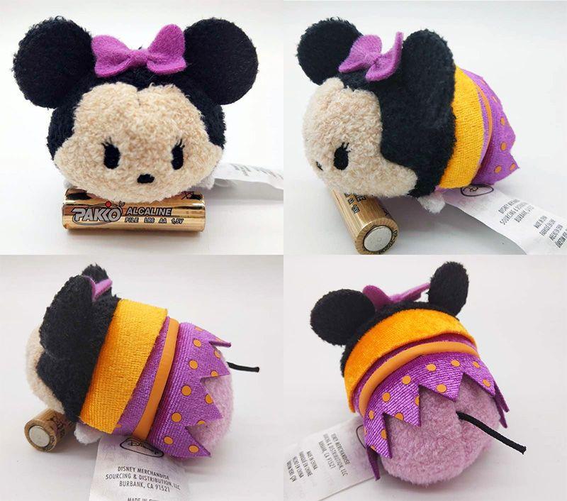 4 Styles Hot Disney TSUM TSUM Moana Maui Pua Heihei Mini Plush Toys With Chain