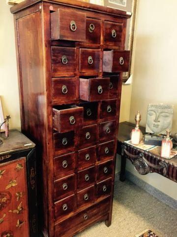 Item 3938 Solid Wood Multidrawer Asian Medicine Cabinet Rangement Organization Ville De Montreal Kijiji Kijiji Storage Asian Medicine