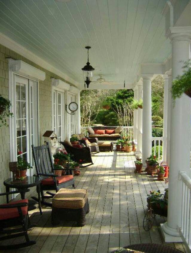 Country Porch.  Would love this at my house