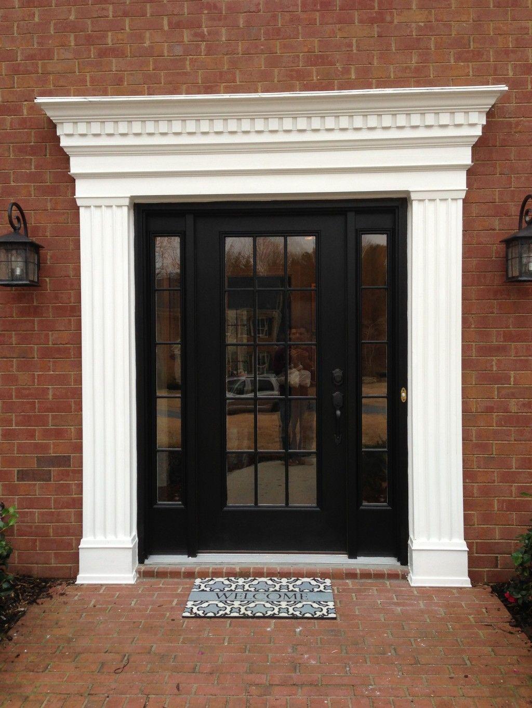 Exterior window trim ideas - Exterior Window And Door Trim Designs And Wood Door Designs India