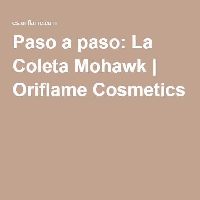 Paso a paso: La Coleta Mohawk | Oriflame Cosmetics