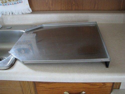 Stainless Steel Kitchen Sink Drain Board Household