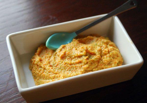 Homemade baby food recipe | chicken, carrots, green beans ...