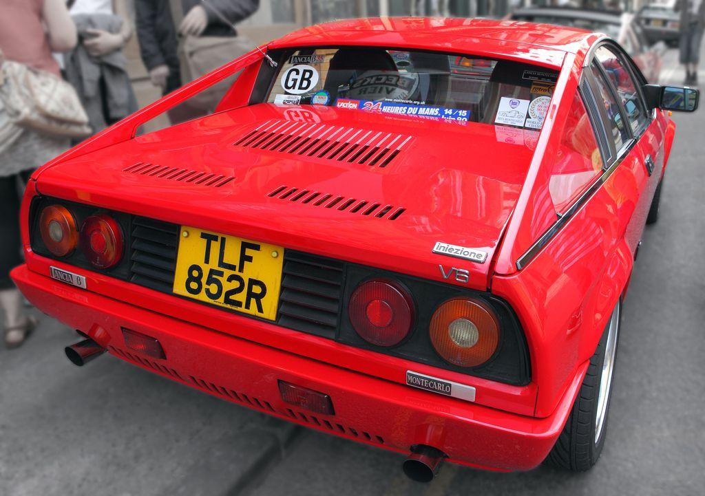 Lancia Beta Montecarlo Pininfarina Rear Detail C1977 Mustang Cars Euro Cars Classic Cars