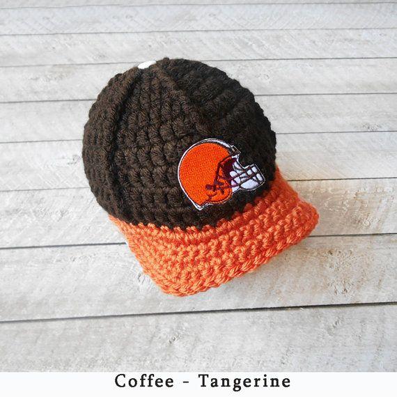 low priced 09c8f 4431f ... shop baby boy hat baby hats cleveland browns baby hat newborn hats  newborn beanie football team