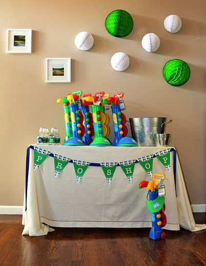 Golf Birthday Party Ideas Golf party Golf and Favors