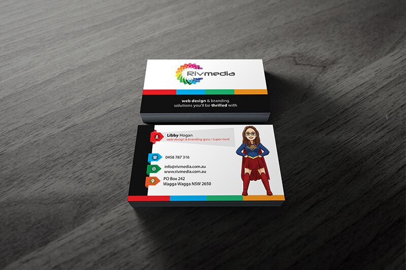 Web Design Business Karten Zusammen Mit Web Design