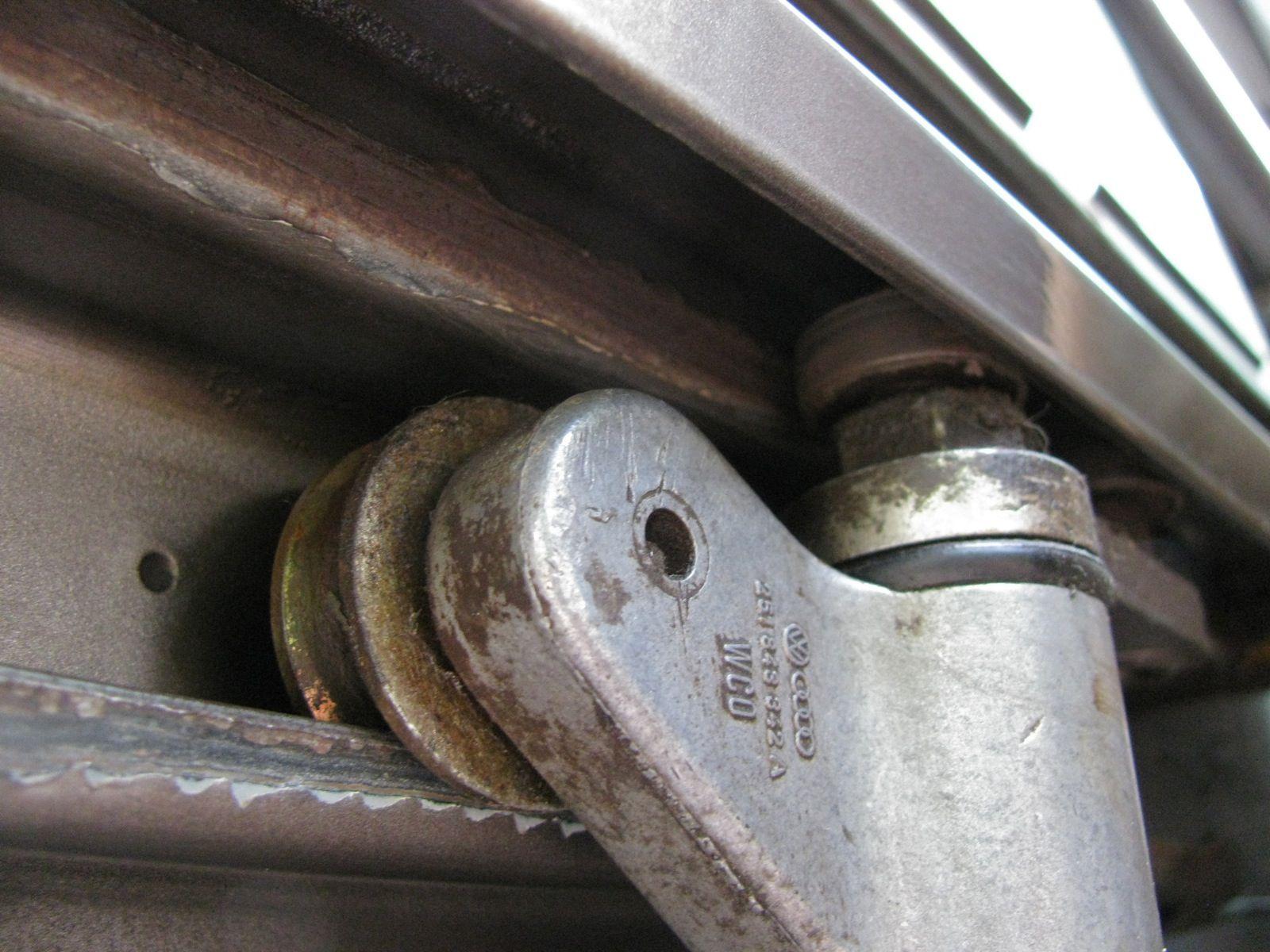 Vanagon Sliding Door Quietening Hack Sliding Door