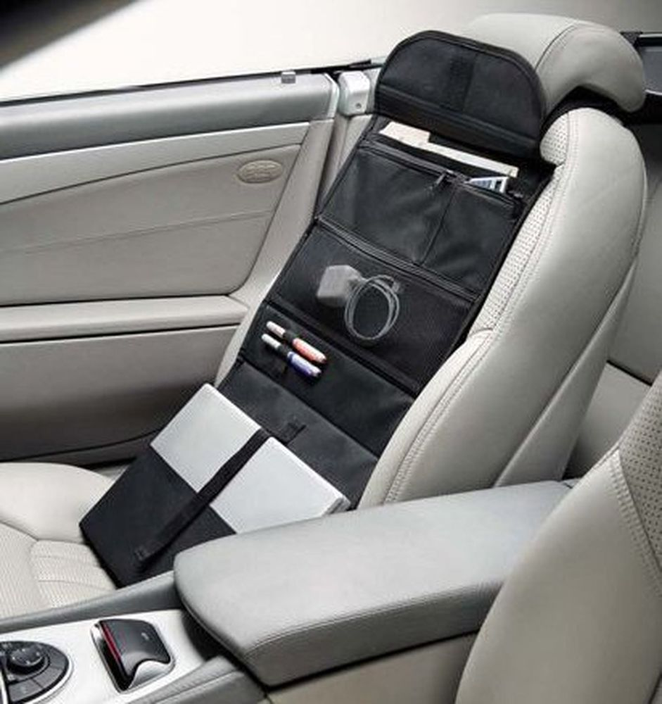 Car Office Organizer & Portable Workstation with Laptop
