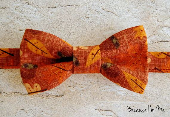 Autumn Thanksgiving Boys Bow Tie Fall Is In The Air Great For Thanksgiving Bowtie Infant Toddler Child Preteen