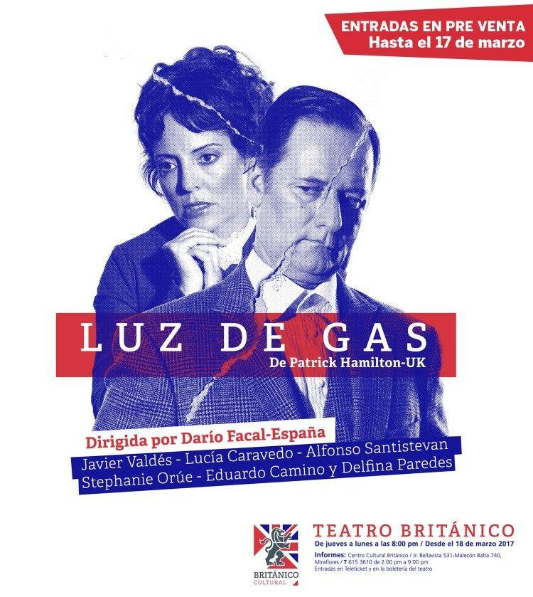 Luz de Gas 15/05/2017 Teatro Británico