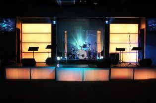 Throwback Err Body In The Church Church Stage Design