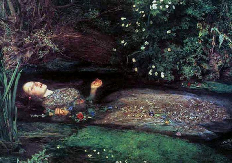 Ophelia, John William Waterhouse, 1889 | Préraphaélites, Préraphaélisme, Peinture classique