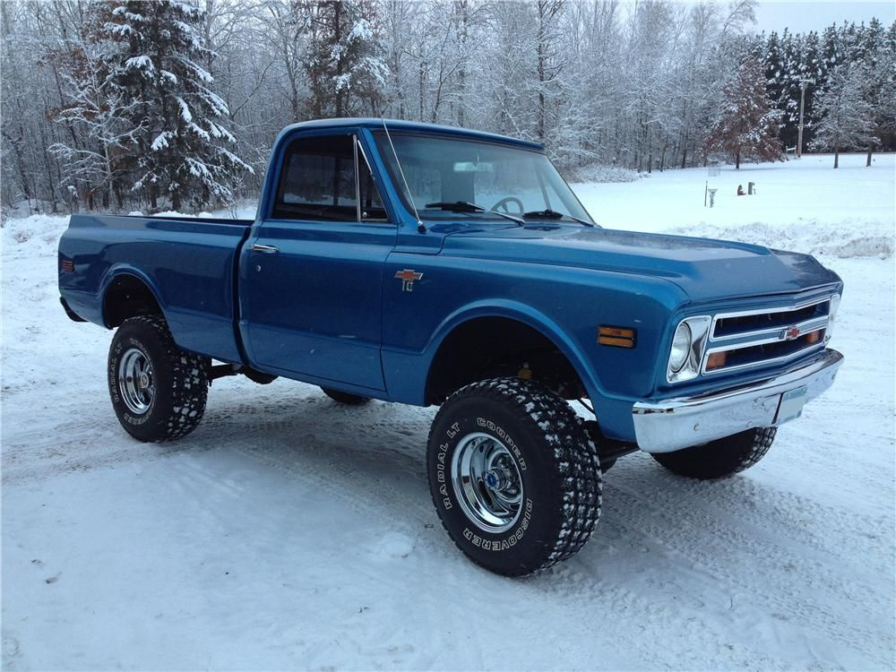 1968 GMC Custom - Badged as a Chevy after frame off restoration ...