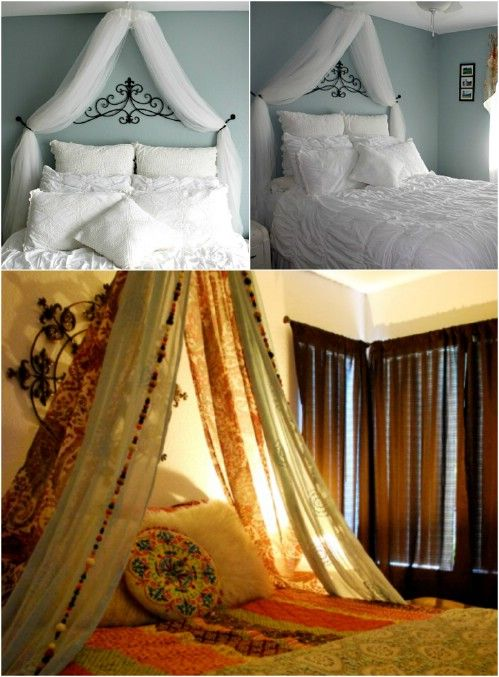 These 23 DIY Bed Canopies Will Ensure That You Sleep Like A (Glamorous) Baby! & These 23 DIY Bed Canopies Will Ensure That You Sleep Like A ...