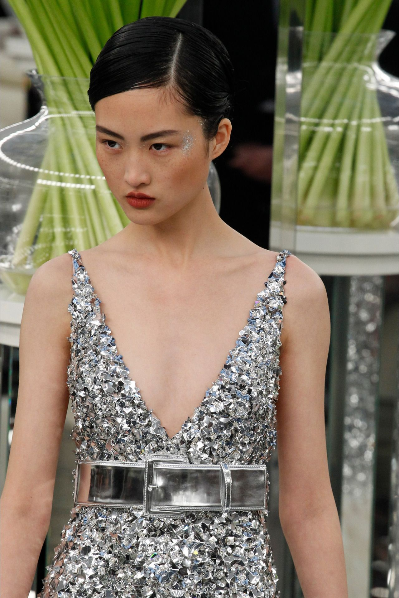78ae6a386f Chanel Haute Couture Spring - Summer 2017. Model  Jing Wen ...