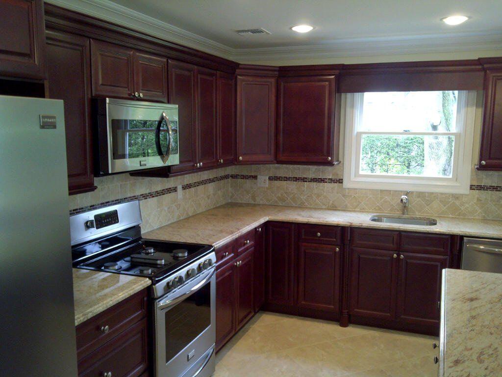 Cherry Glaze Kitchen & Bathroom Cabinet Gallery - Cherry Glaze from Kitchen Cabinet Kings